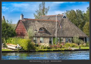 Reetdachhaus (Niederlande)