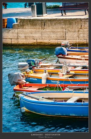 Bootshafen, Arco - Italien