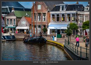 Hafeneinfahrt, Lemmer - Niederlande