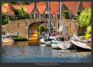 Hafeneinfahrt - Niederlande