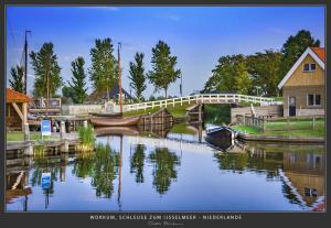 Workum-Schleuse, IJsselmeer - Niederlande